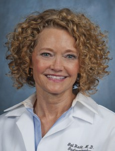 Dr. Gail Hecht, Professor of Medicine and Microbiology/Immunology, and Chief of Gastroenterology and Nutrition at Loyola University Chicago
