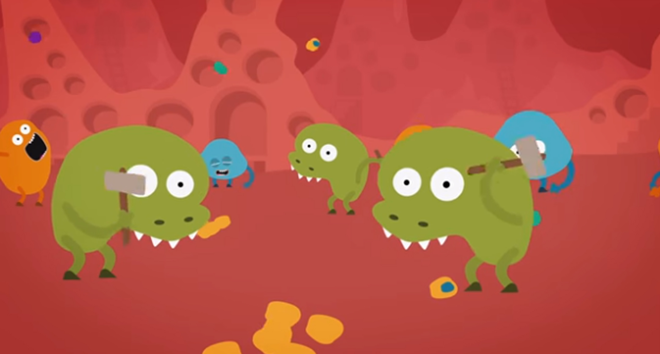 A Video To Introduce The Bacterial Communities That Live Inside The
