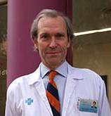 Professor F. Azpiroz, gastroenterologist at Hospital Universitari Vall d'Hebron in Barcelona, Spain