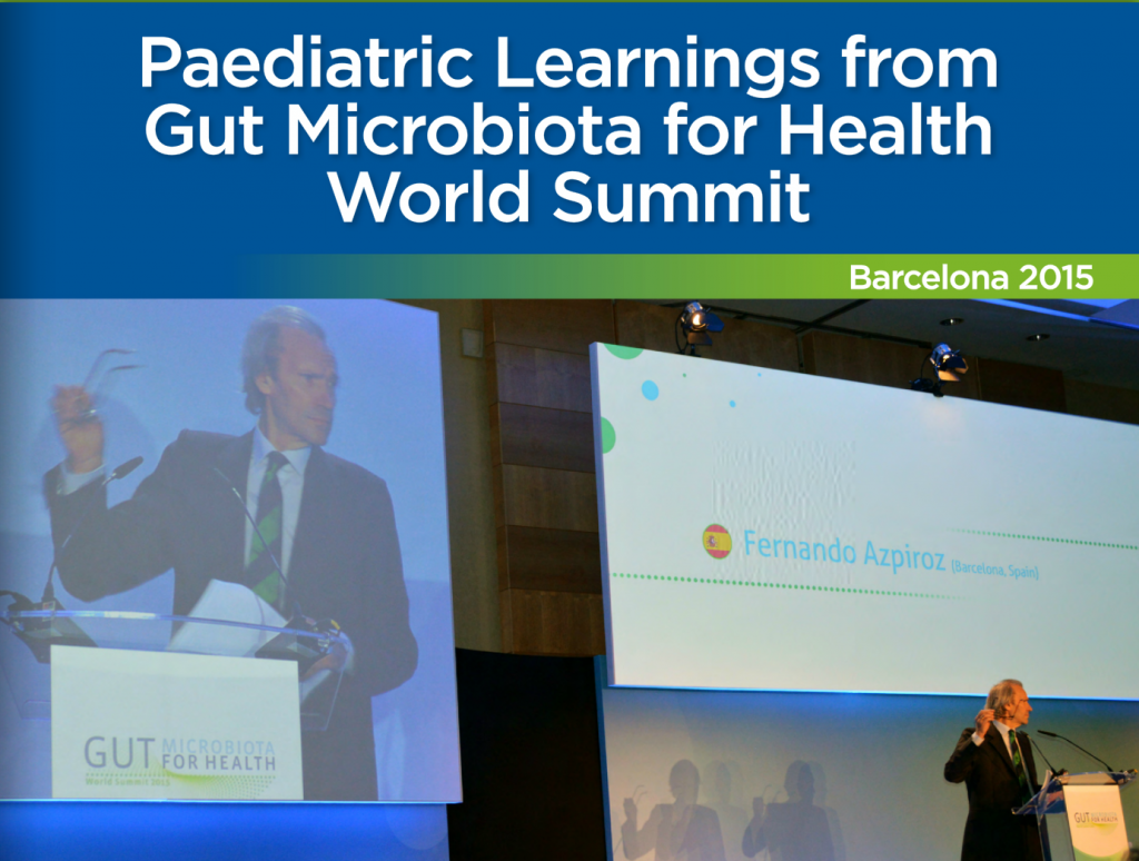 Gut Microbiota for Health Summit 2015: Key findings for paediatricians