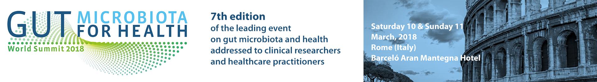 Gut Microbiota for Health World Summit 2018