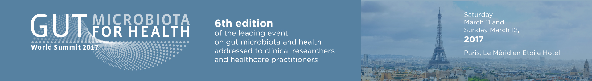 Gut Microbiota for Health World Summit 2017