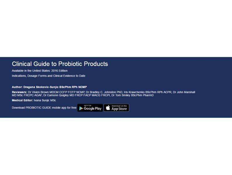 probiotics a clinical guide