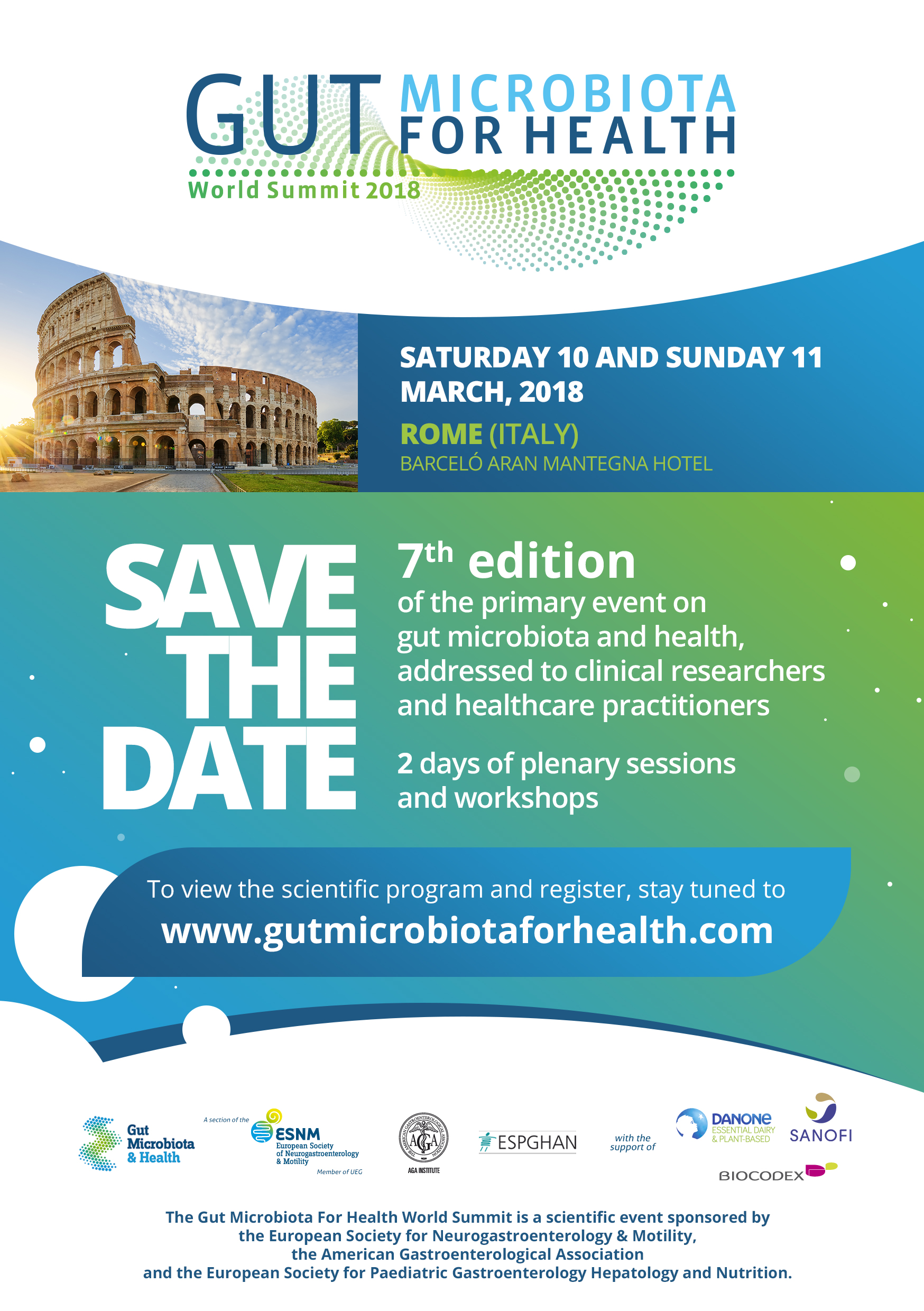 Gut Microbiota for Health World Summit 2018