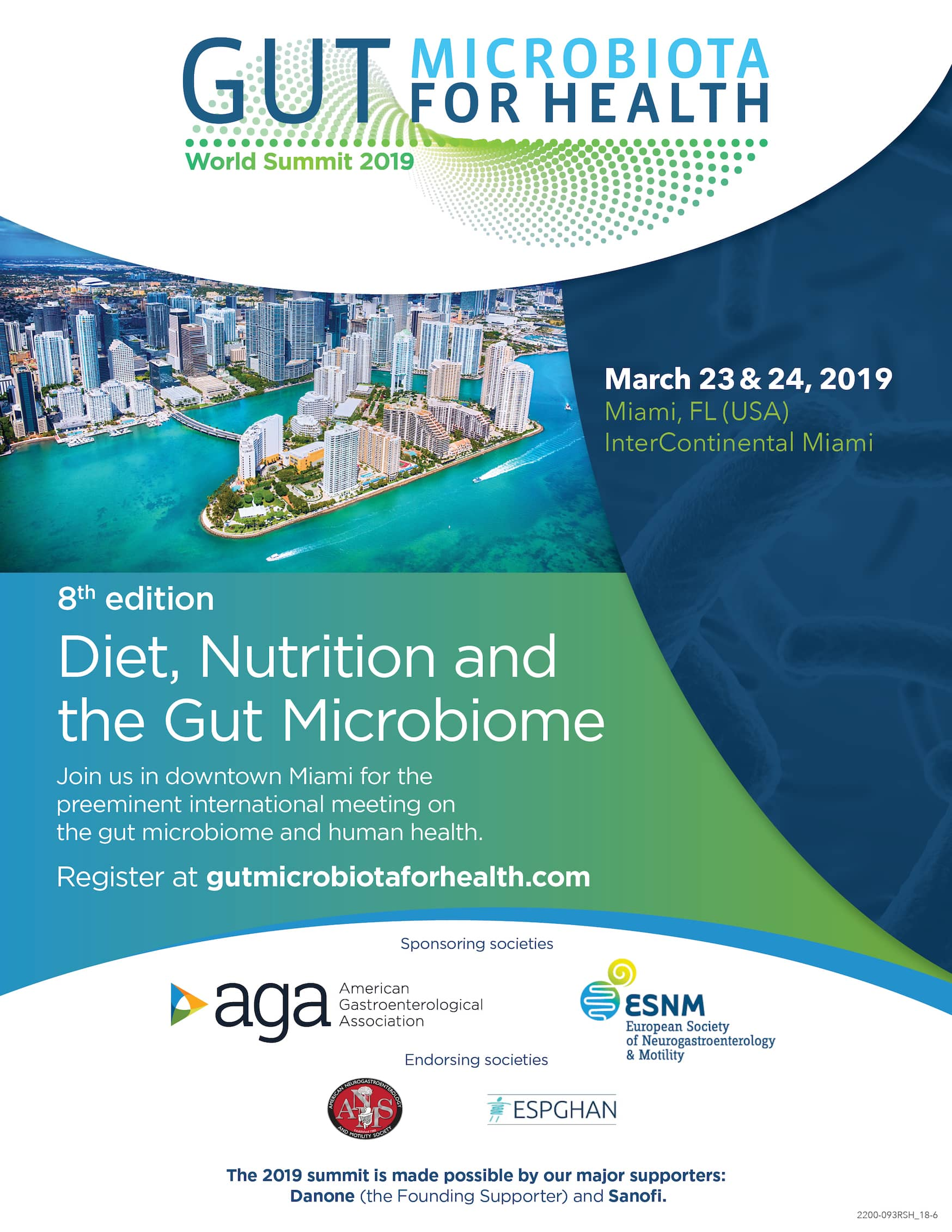 Gut Microbiota for Health World Summit 2019
