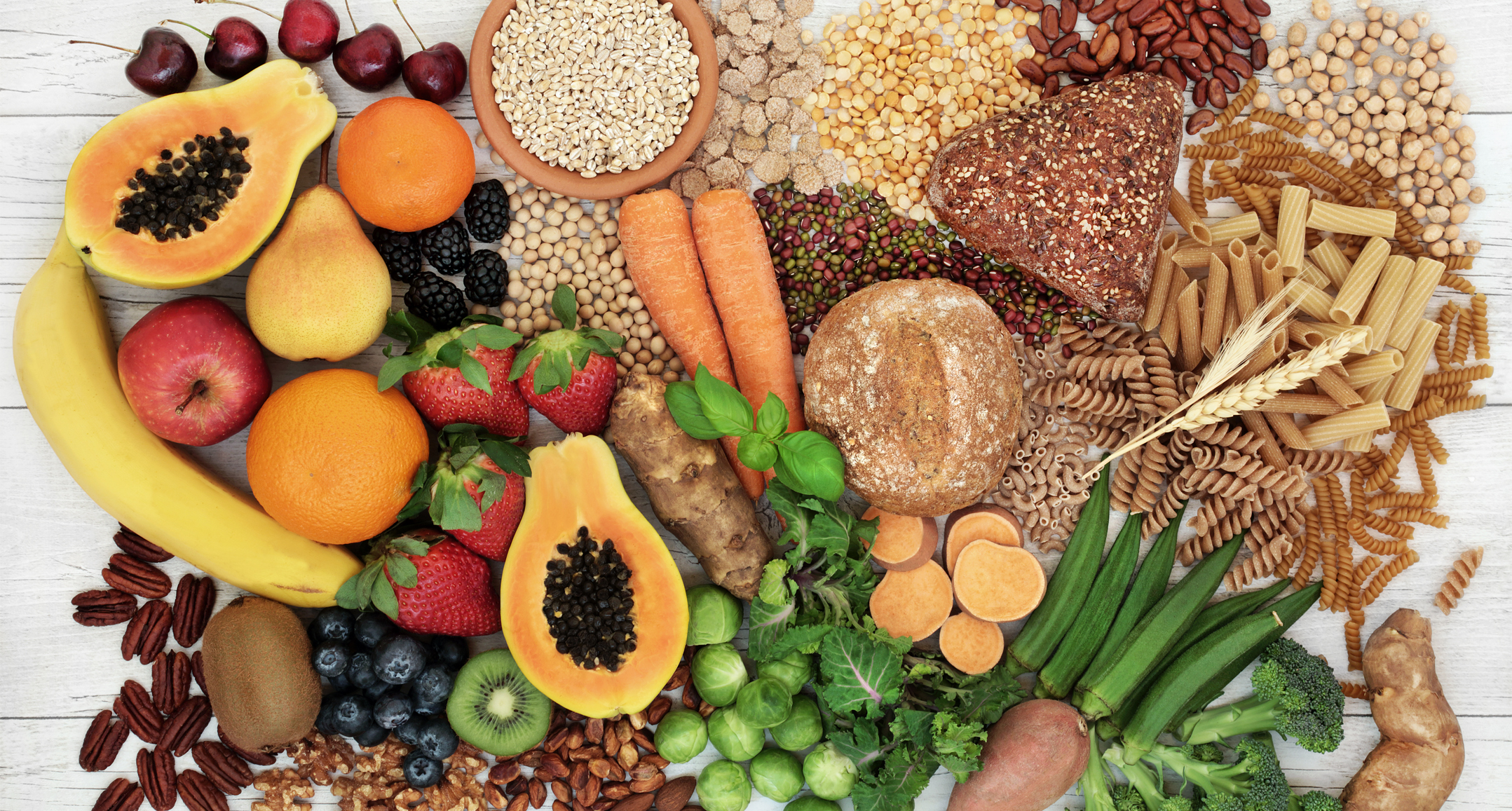 List of Fiber foods to stay healthy